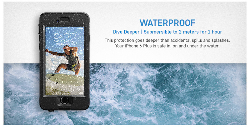 Lifeproof nuud iphone6 plus