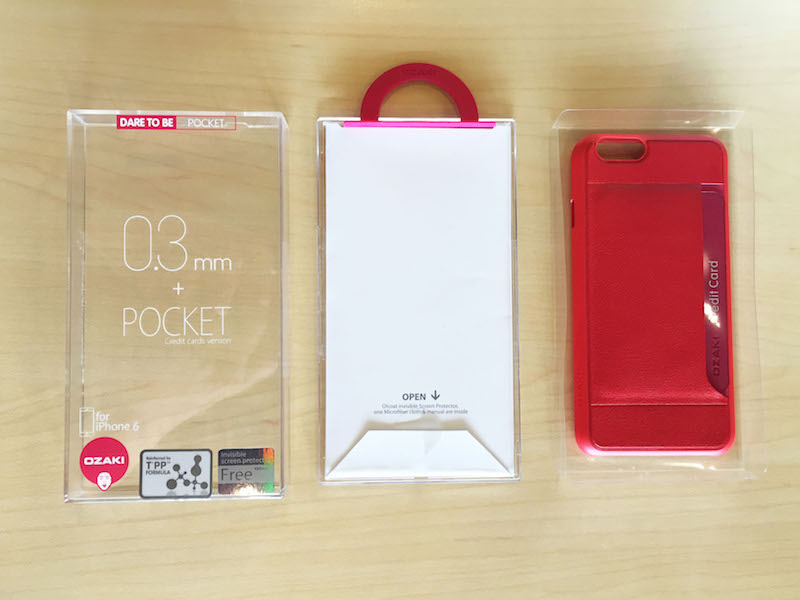 Ozaki O!coat 0.3+ Pocket iPhone 6