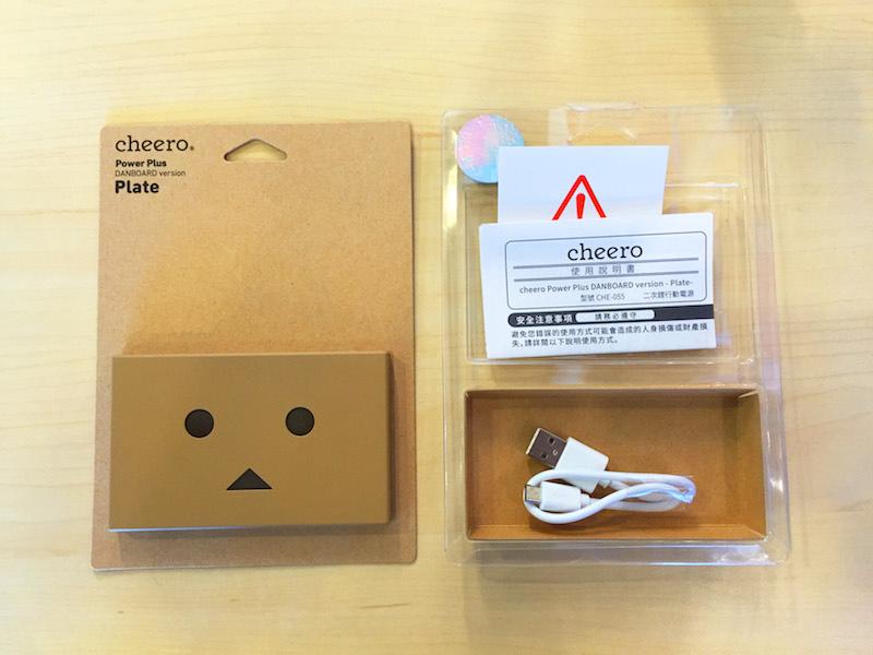 Cheero 新款超薄型阿愣(薄阿楞) 4200mAh 行動電源