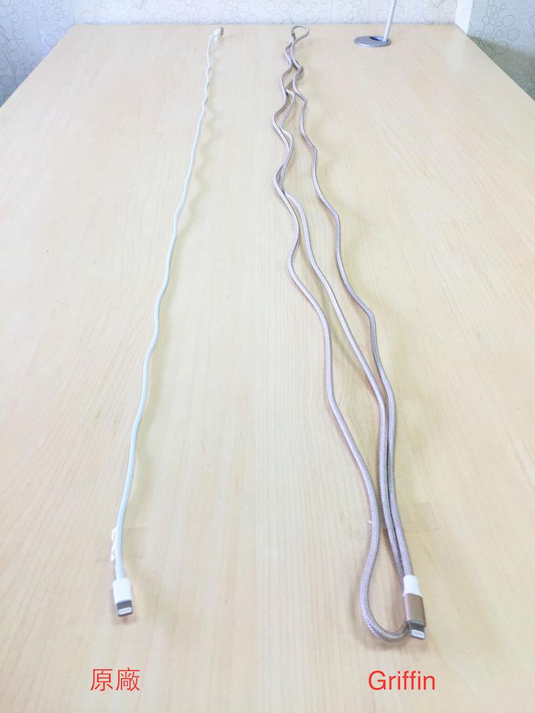Griffin 3M Lightning 雙向 USB 編織傳輸線 充電線
