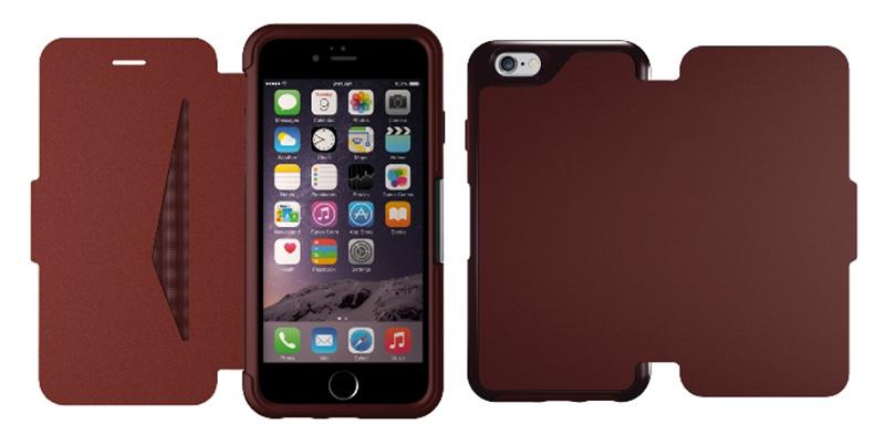 皮套中的防摔王 OtterBox Strada iPhone 6 掀蓋式 真皮 防摔保護殼