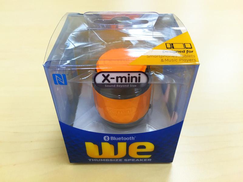[開箱實測] 音樂小巨人 X-mini WE 隨身藍芽拇指喇叭音箱