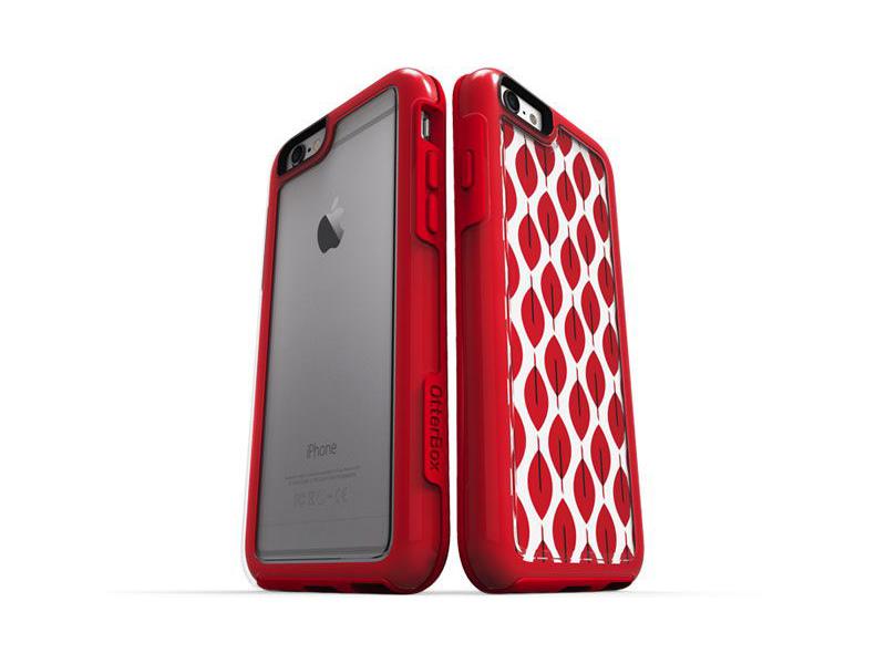 [開箱實測] 美國OtterBox MySymmetry iPhone 6 炫彩系列透明保護殼