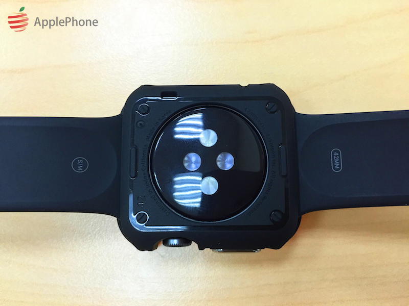 [開箱實測] SGP Apple Watch Case Tough Armor 手錶保護殼 (42mm)