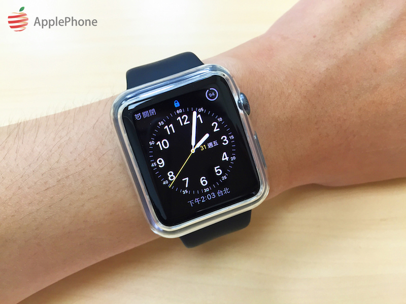 [開箱實測] SGP Apple Watch Case Liquid Crystal 極致輕薄 透明軟質保護殼