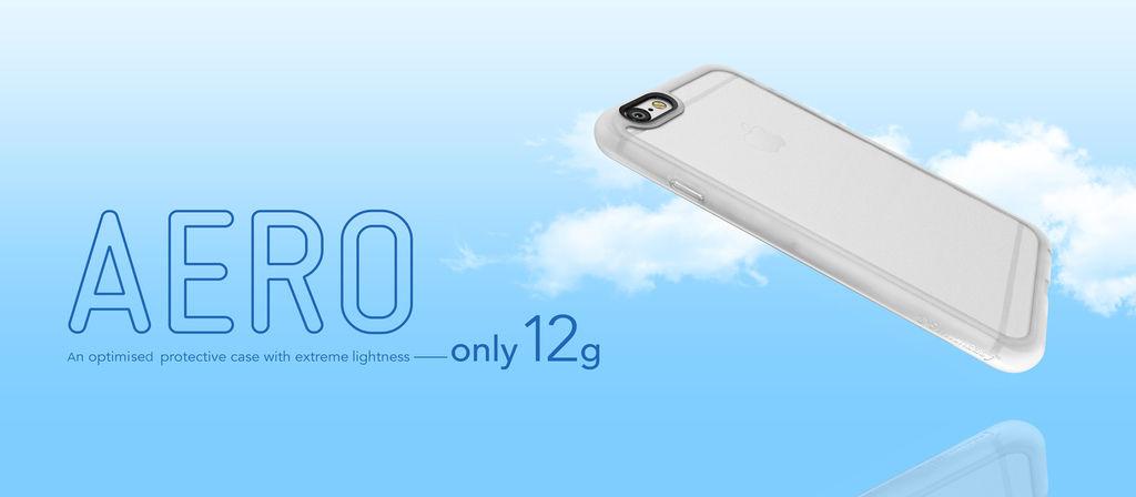 SwitchEasy Aero iPhone 6/6S 輕量化耐衝擊保護殼