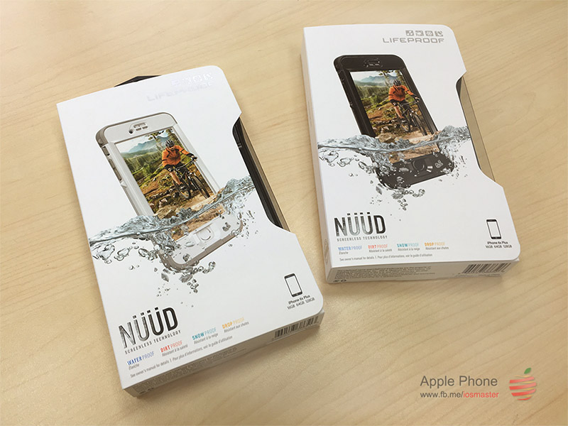 "Lifeproof nuud iPhone 6/6S plus (5.5"") 防水防震四防保護殼"