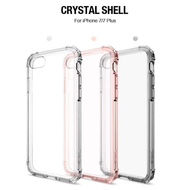 Crystal Shield 四角加強防撞透明手機殼