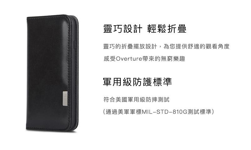 moshi overture for iphone 側掀卡夾保護殼 靈巧設計.jpg