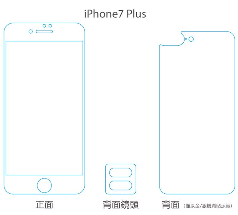 hoda iPhone X/8/7 Plus 0.33mm 2.5D 滿版霧面磨砂抗眩防指紋鋼化玻璃貼
