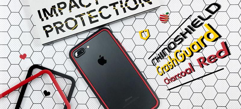 蘋果瘋 犀牛盾rhinoshield 防摔邊框2.0 限量版 黑曜紅 for iPhone 6/6S/7 & Plus
