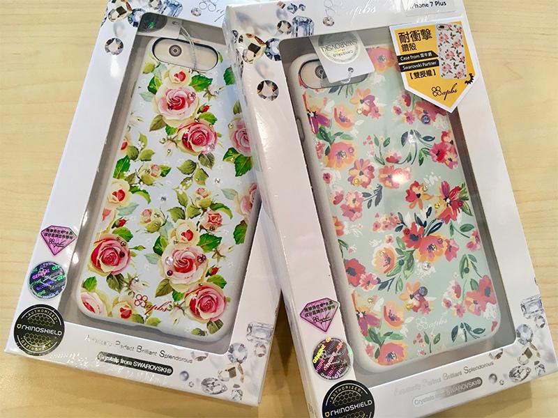 【apbs】施華洛世奇 X 犀牛盾 PLAYPROOF Strong & Beauty系列 水晶防摔保護殼 for iPhone7/7 Plus