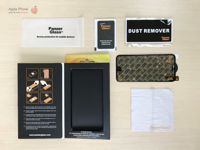 【PanzerGlass】北歐品牌 耐衝擊玻璃保護貼 for iPhone 5/5S/SE/6/6S/7 & Plus系列