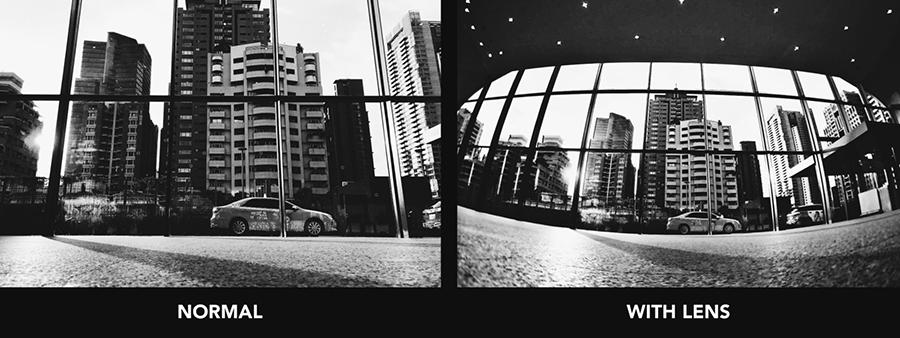 犀牛盾165超廣角鏡頭 實拍