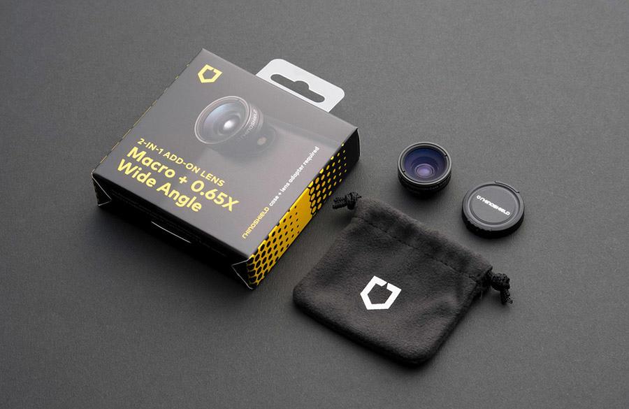 犀牛盾100廣角+微距鏡頭 商品及包裝