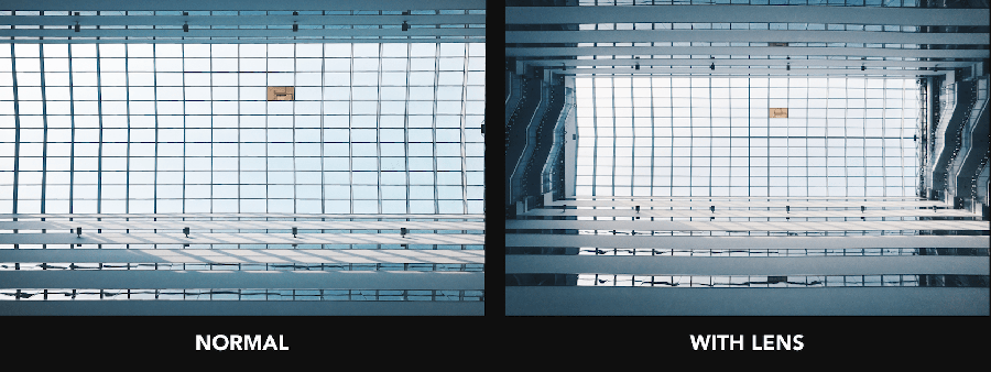 犀牛盾110廣角低變形鏡頭 實拍