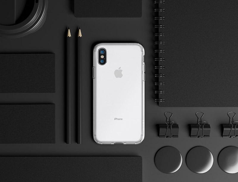 【Spigen SGP】Liquid Crystal 超薄透明軟質手機殼 for iPhone X/8/7 Plus