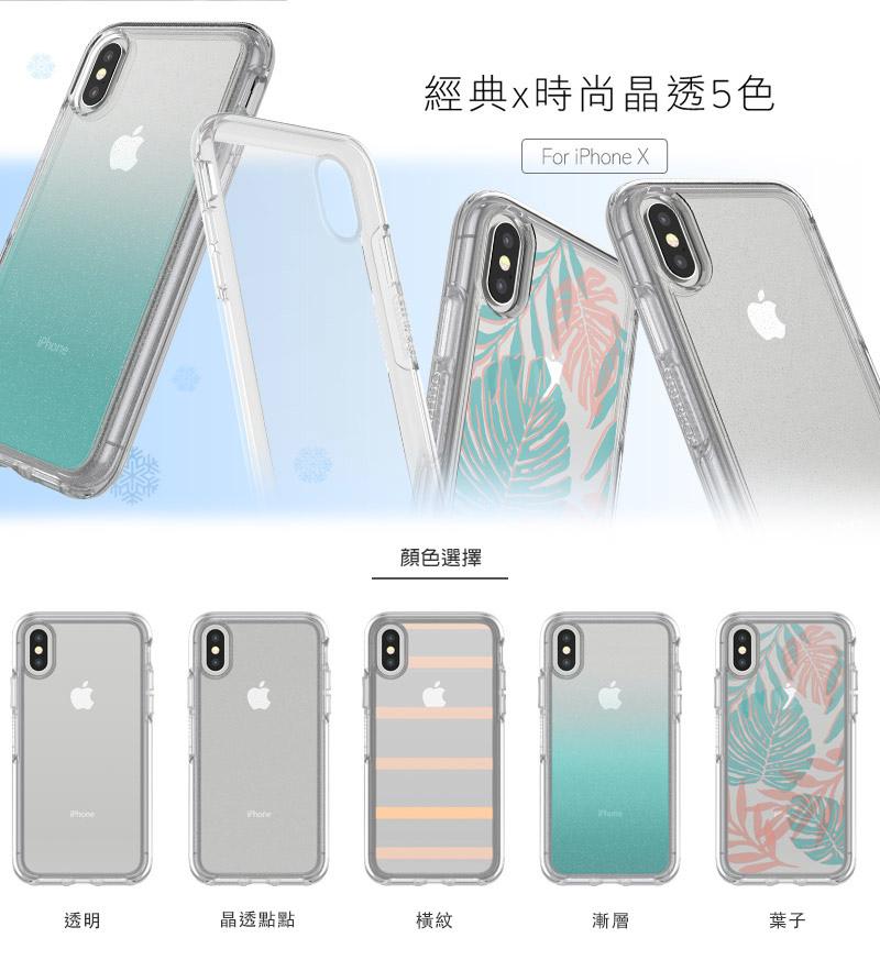 【OtterBox】Symmetry Series Clear 炫彩幾何透明(圖案)系列保護殼 for iPhone 7/8/X & Plus