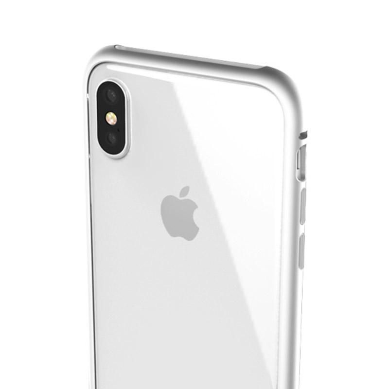 Elpaka Magnet 鋁合金磁吸式保護邊框 for iPhone X/8/7 Plus