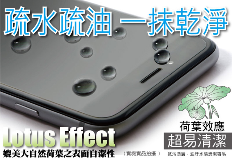 hoda iPhone 疏油疏水螢幕保護貼 for iPhone X/8/7/6S/6 Plus
