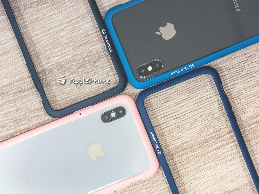【開箱】Telephant 太樂芬 iPhone Urban 簡約款抗汙防摔鋼圈內芯邊框+耐刮透明背板