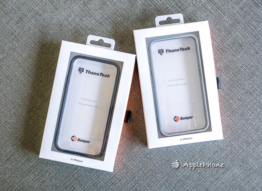 [開箱] 美國 ThanoTech iPhone X K11 Bumper 裸機質感金屬防摔保護殼