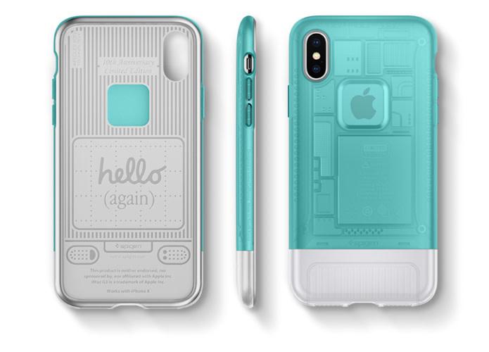 Spigen SGP iPhone X Classic C1 十週年紀念手機殼 - Hello (again)