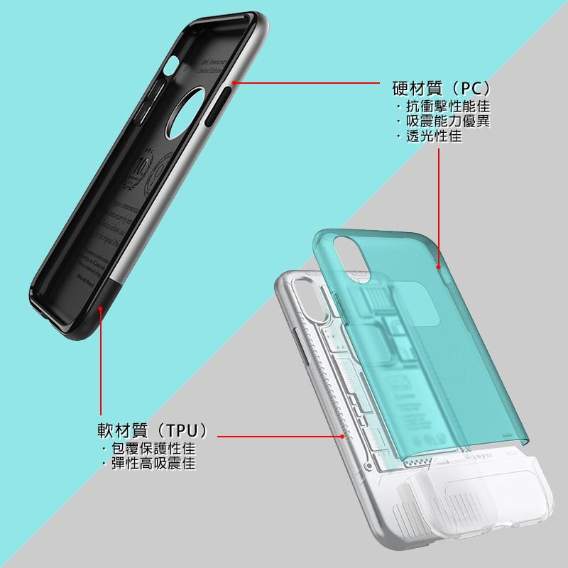 Spigen SGP iPhone X Classic C1 & One 十週年紀念手機殼 - TPU+PC 雙層防護設計