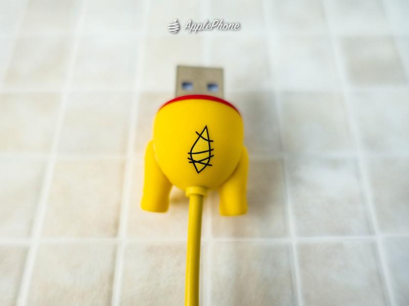 迪士尼大屁屁 iphone傳輸線 MFI認證線 USB接頭