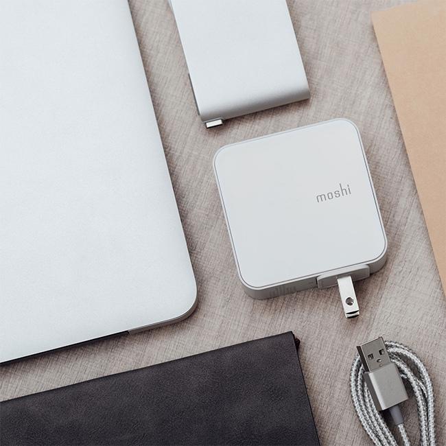 Moshi ProGeo 旅行系列 USB 4 port 充電器 高質感