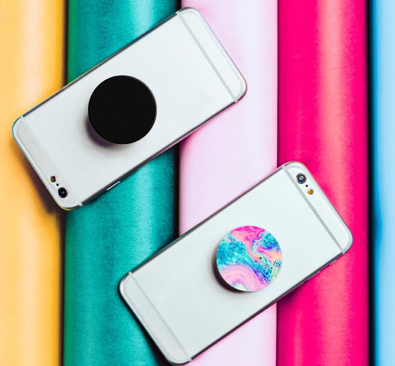 COLOR VIBES色彩系列-【PopSockets泡泡騷】美國時尚多功能手機支架
