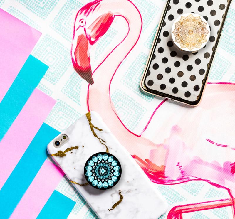 MANDALA曼陀羅系列-【PopSockets泡泡騷】美國時尚多功能手機支架