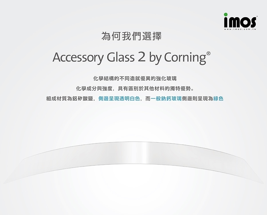 imos iPhone XS Max / XS / XR / X 非滿版全透明玻璃貼 Accessory glass 2 by Corning