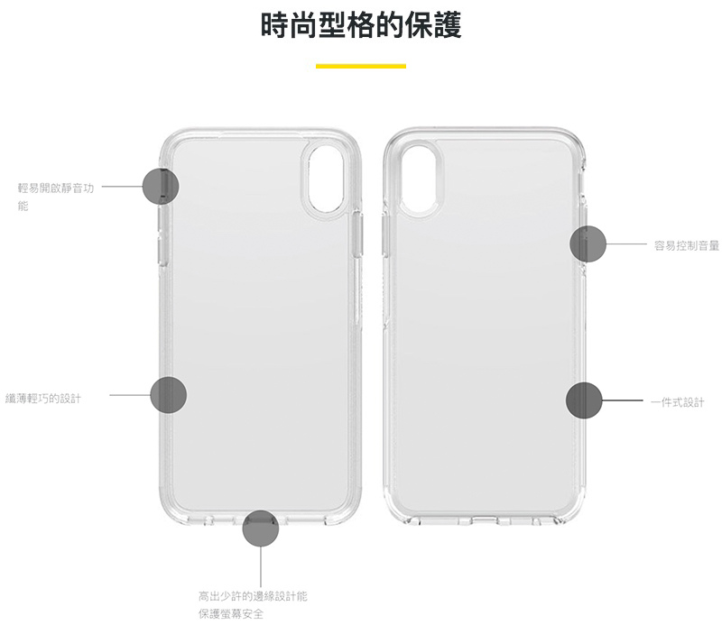 OtterBox Symmetry Series Clear炫彩幾何系列保護殼 for iPhone XS Max/XR/XS/X