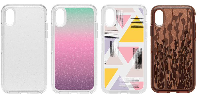 OtterBox Symmetry Series Clear炫彩幾何系列保護殼 for iPhone XS Max/XR/XS/X 透明款