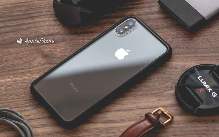 【開箱】ABSOLUTE LINKASE AIR 軍規防摔認證9H奈米康寧玻璃背蓋手機殼 for iPhone XS/Max/XR/X