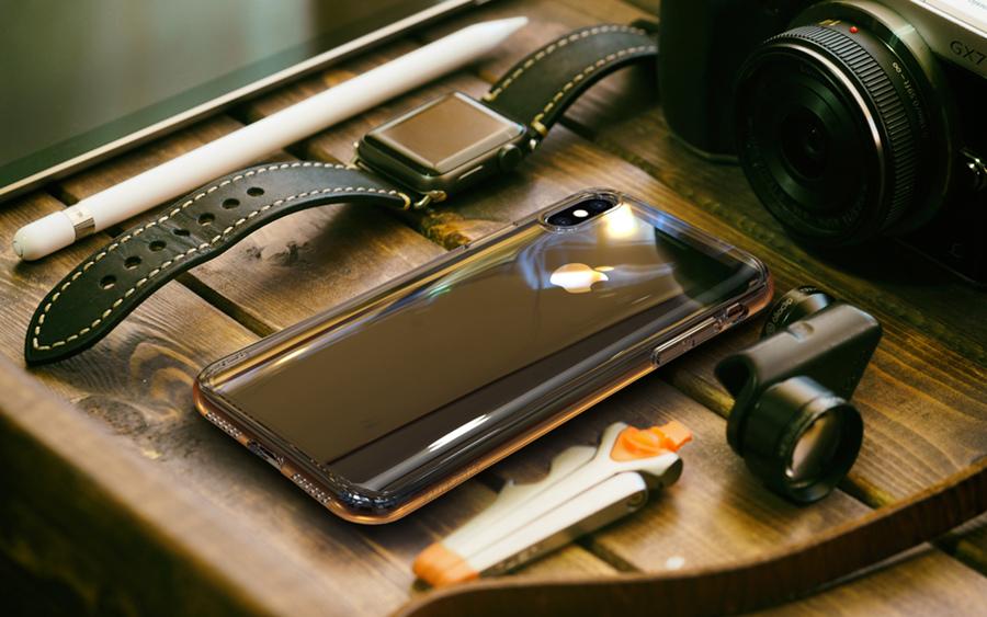 ABSOLUTE LINKASE PRO 3D 曲面美型大猩猩康寧玻璃保護殼 for iPhone Max/XR/XS/X