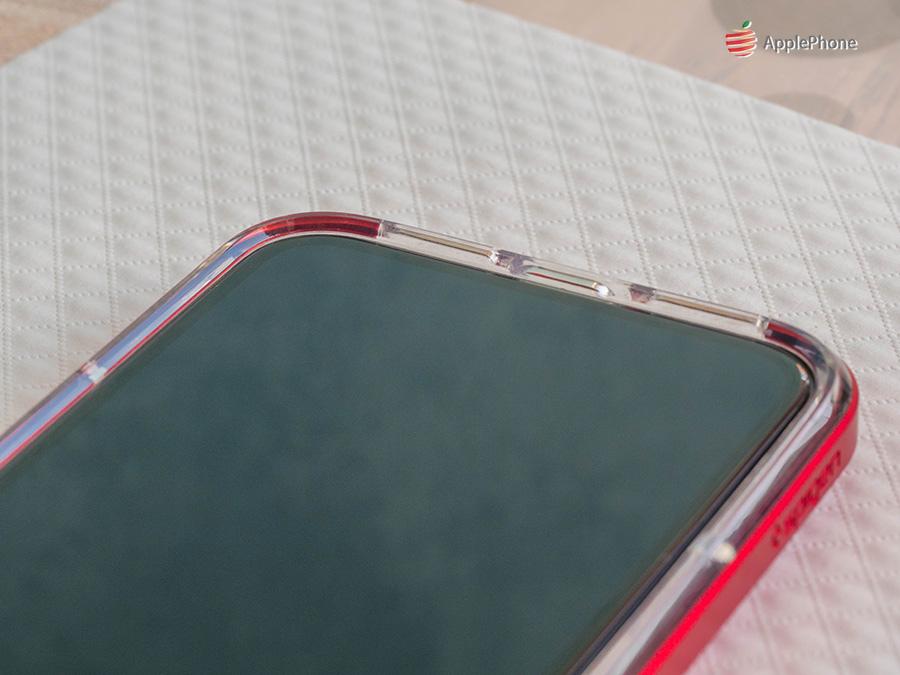 正面螢幕邊緣加高約 1mm,正面朝下放也不怕