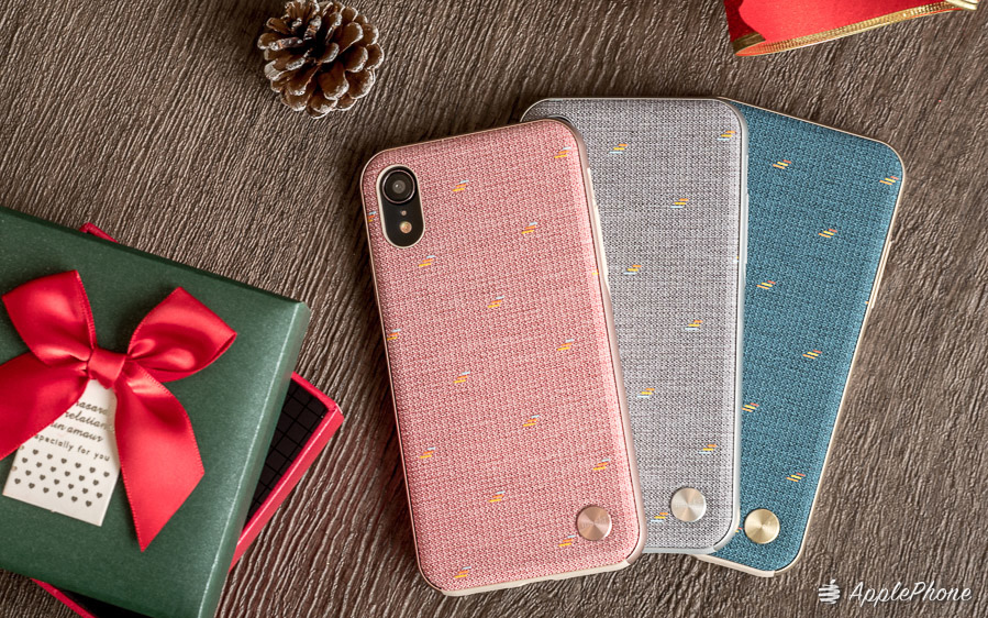 【開箱】Moshi iPhone XS Max/XR Vesta 風尚布質背蓋殼