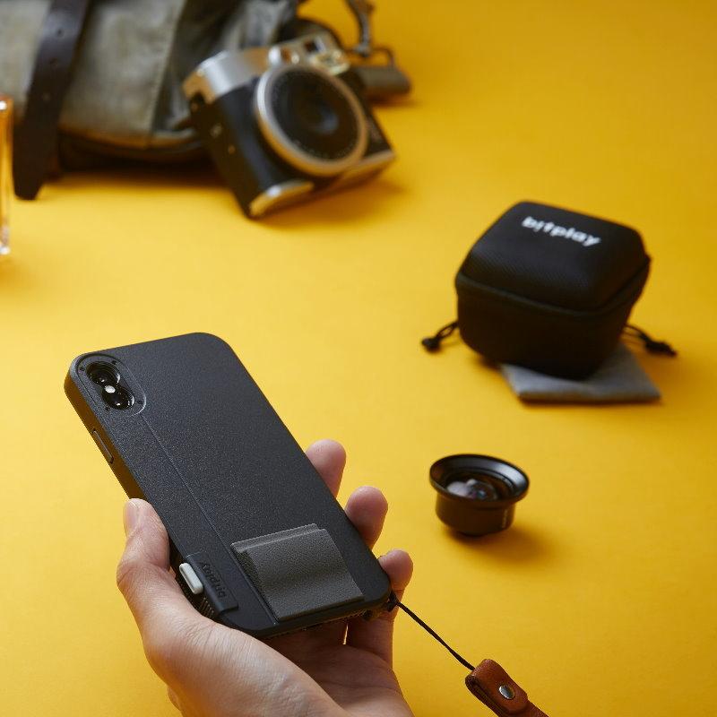 bitplay SNAP! iPhone 魚眼+ 微距相機鏡頭(Fisheye + Macro Lens)
