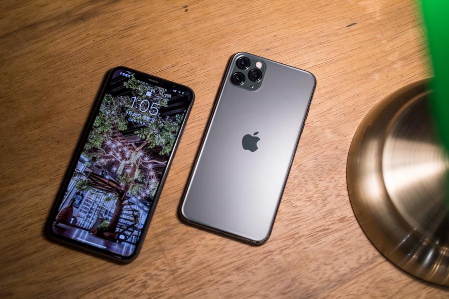 iPhone 11 Pro Max 綠