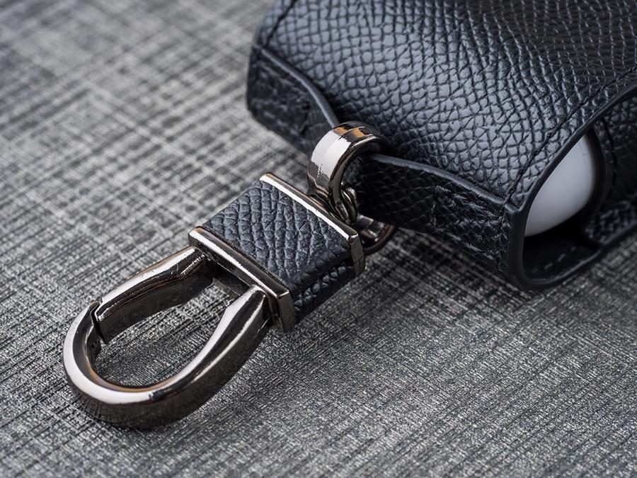 GRAMAS iPhone AirPods 藍芽耳機皮革保護套