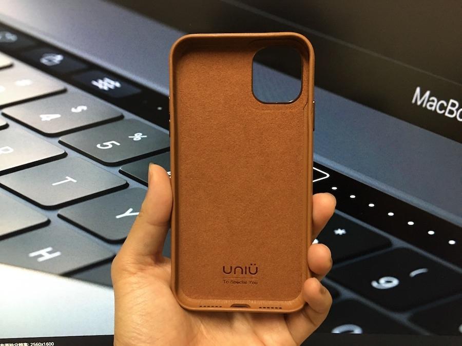 UNIU CUERO 全包皮革保護殼 焦糖棕色