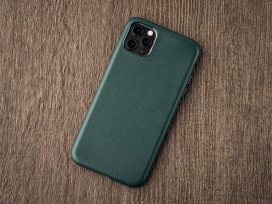 UNIU CUERO 全包皮革保護殼 森林綠色