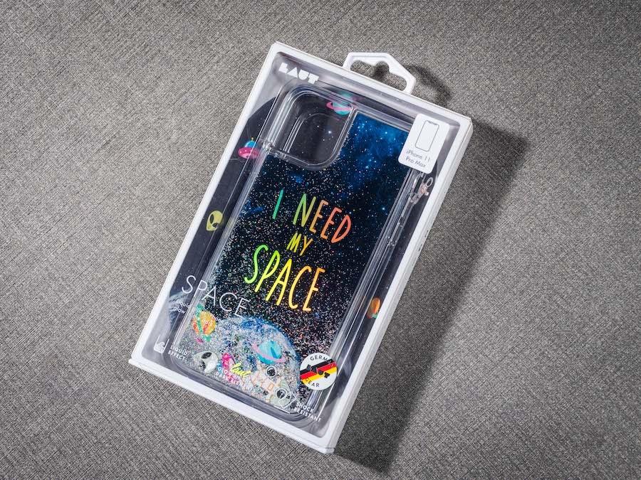 【開箱】LAUT・流沙系列 鋼化玻璃 iPhone手機保護殼 外包裝