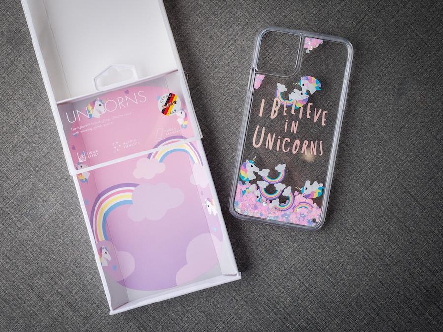 LAUT・流沙系列 鋼化玻璃 iPhone手機保護殼 獨角獸