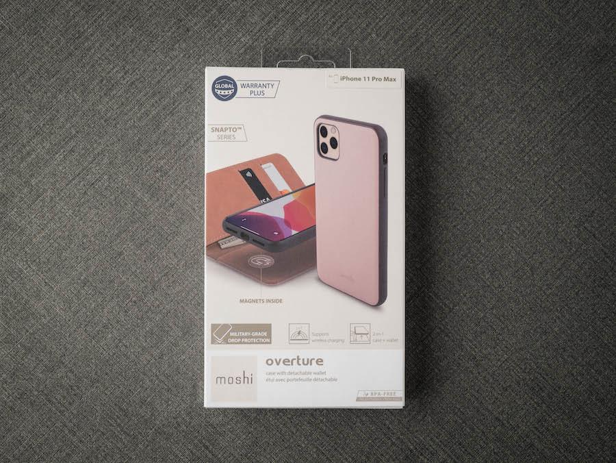【開箱】moshi ・Overture 磁吸可拆式卡夾型皮套保護殼