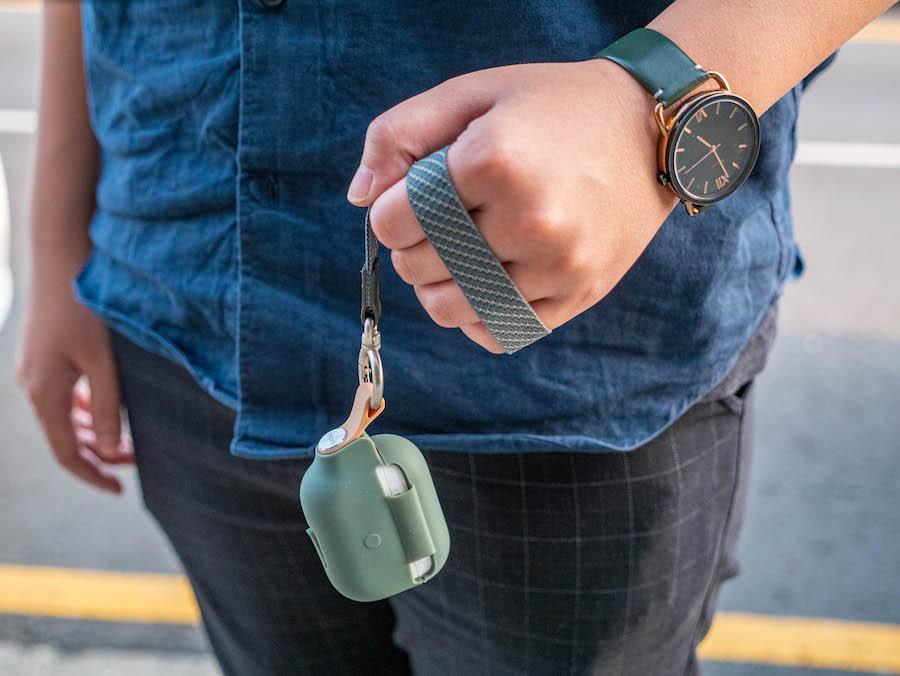 【開箱】Moshi Pebbo AirPods Pro 藍牙耳機充電盒保護套