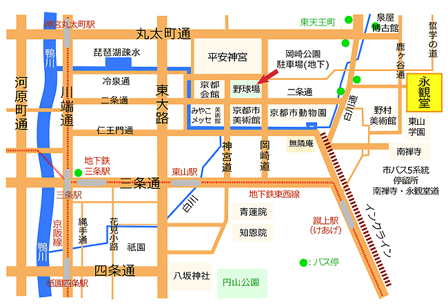 永觀堂附近交通地圖.png