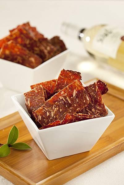 〈原味杏仁脆片〉愛不是手肉乾_超人氣團購美食推薦肉干